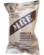 Mexican Style Chicken Stew 2020 Meals Ready To Eat US Military MREs Meal 15