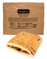 Apple Turnover 3 Pack - Bridgford MRE Ready To Eat Meal