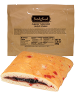 Cherry Turnover 3 Pack - Bridgford MRE Ready To Eat Meal