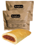 Italian Sausage with Sauce 3 Pack - Bridgford MRE Ready To Eat Meal