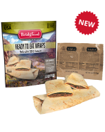 Pork BBQ 3 Pack - Bridgford MRE Ready To Eat Meal