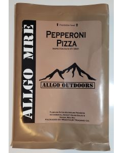AllGo Outdoors Pepperoni Pizza MRE 2021 Meals Ready To Eat US Military Spec Meal 23