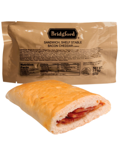 Bacon and Cheddar 3 Pack - Bridgford MRE Ready To Eat Meal