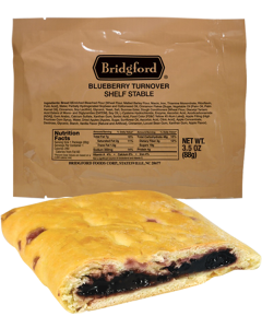 Blueberry Turnover 3 Pack - Bridgford MRE Ready To Eat Meal