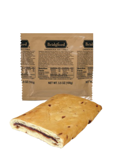 Cinnamon Bun 3 Pack - Bridgford MRE Ready To Eat Meal
